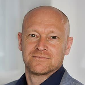 Portrætbillede af Bjarne Stewart Pedersen, Chief Customer Officer
