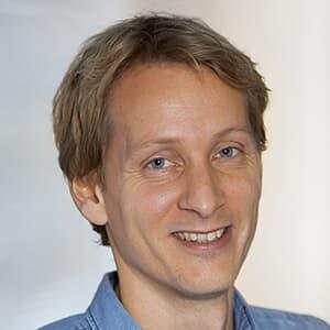 Portrætbillede af Christian Dam, Chief Technology Officer
