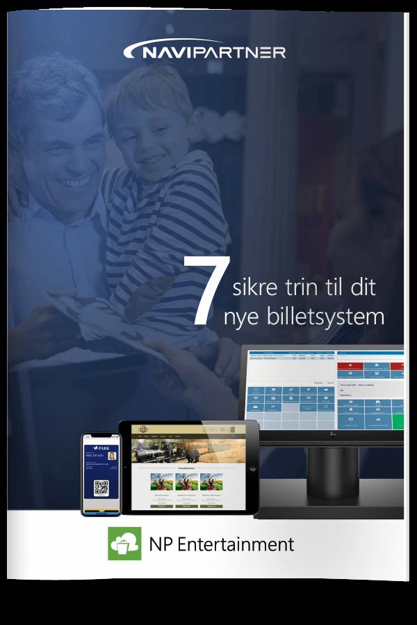 """Forside af """"7 sikre trin til dit nye billetsystem"""""""