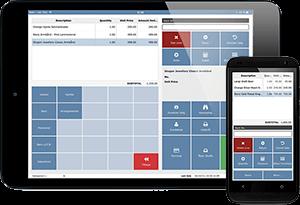 Demo version af vores mPOS kasseløsning på tablet og mobil