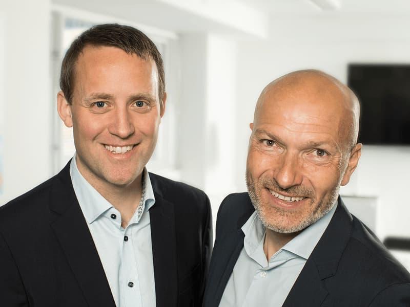Michael Garver Burgaard og Niels Monsen hos NaviPartner