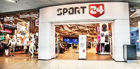 Reference Sport24 butik indgang