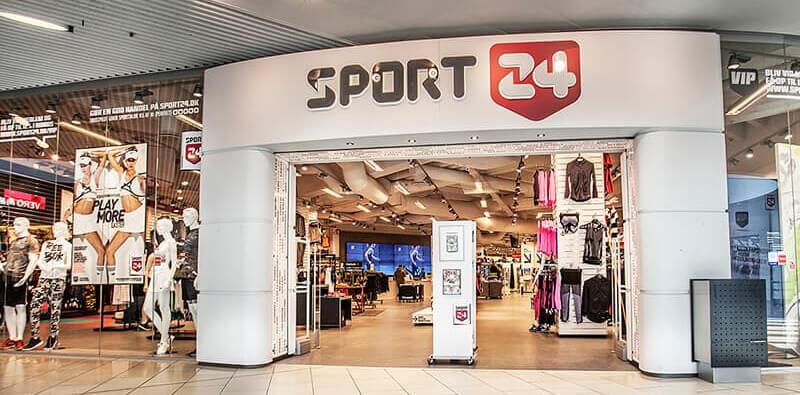 Sport24 butik indgang