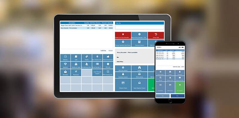 mPOS systemet NP Retail fungerer både på tablet og smartphone