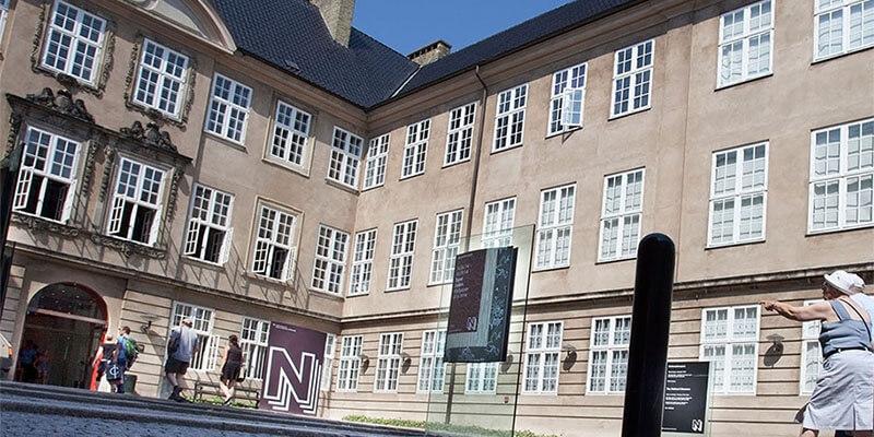 Indgang til Nationalmuseet