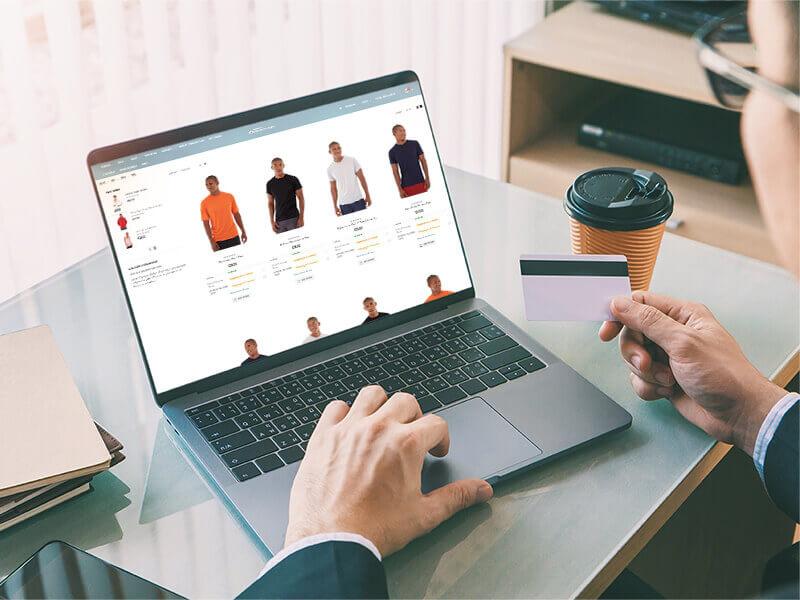 B2B Webshop med NP Retail