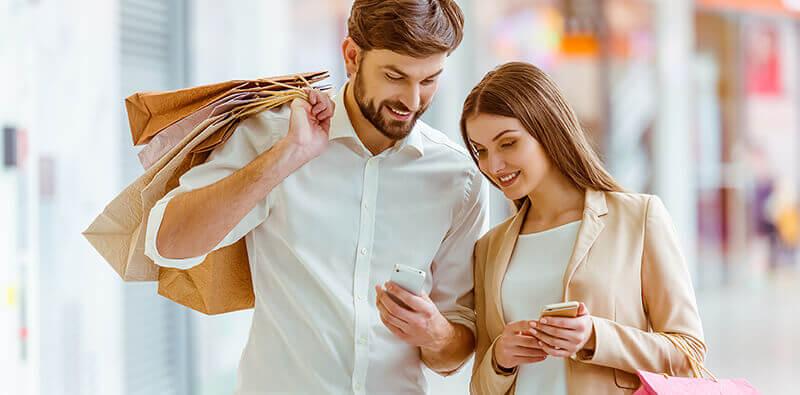 Et par har fået en optimal kundeservice ved hjælp af omnichannel lagerstyring