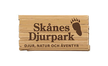 Skånes Djurpark logo